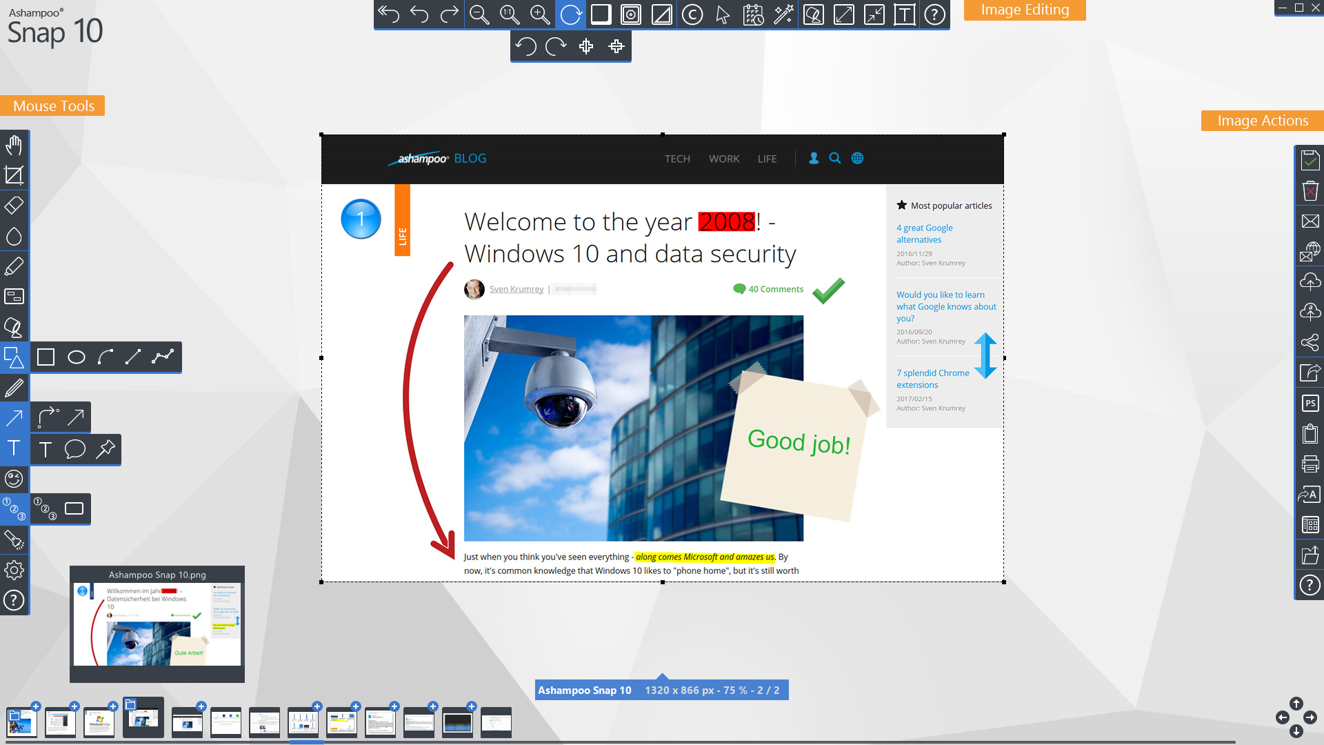 Ashampoo Snap 10.0.7 Crack With Serial Number [FREE]